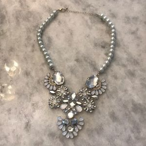 Jewelry - Pearl and Crystal Statement Necklace